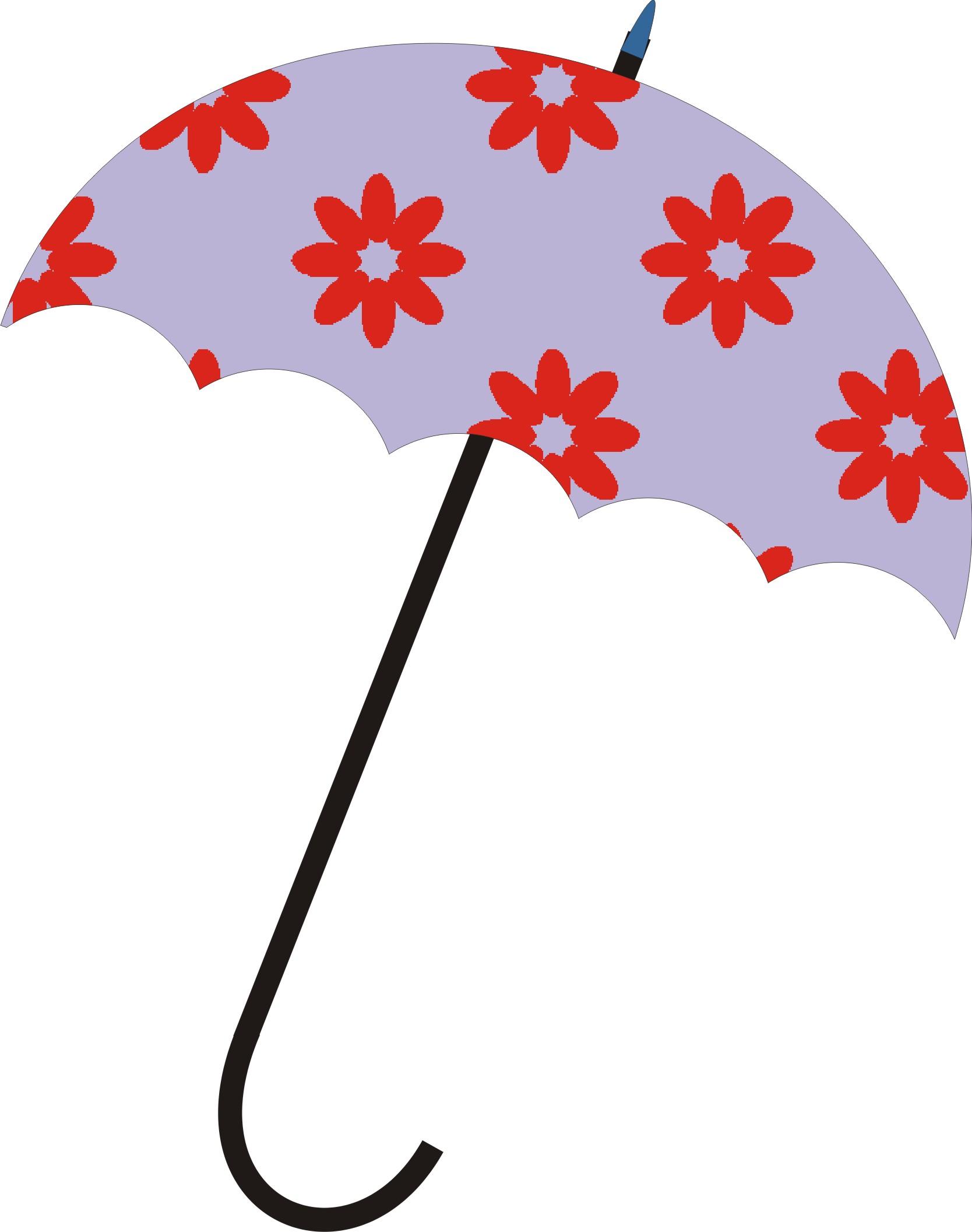 伞的简笔画步骤